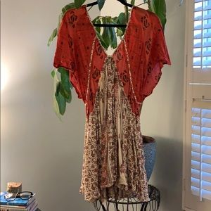 Boho adorable babydoll dress
